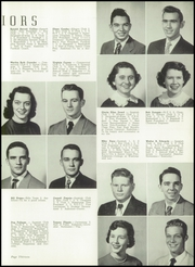 Page 17, 1952 Edition, East High School - Mustang Yearbook (Memphis, TN) online yearbook collection