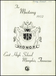 Page 5, 1952 Edition, East High School - Mustang Yearbook (Memphis, TN) online yearbook collection