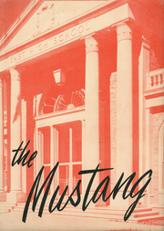 1956 Edition, East High School - Mustang Yearbook (Memphis, TN)