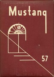 1957 Edition, East High School - Mustang Yearbook (Memphis, TN)
