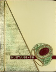 1958 Edition, East High School - Mustang Yearbook (Memphis, TN)