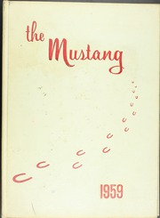 1959 Edition, East High School - Mustang Yearbook (Memphis, TN)