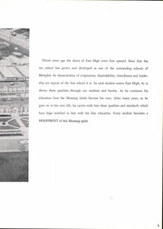 Page 7, 1959 Edition, East High School - Mustang Yearbook (Memphis, TN) online yearbook collection