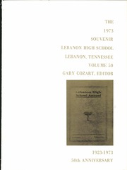 Page 5, 1973 Edition, Lebanon High School - Souvenir Yearbook (Lebanon, TN) online yearbook collection