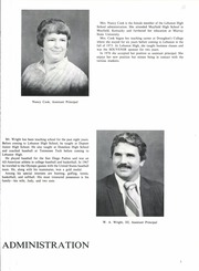 Page 11, 1980 Edition, Lebanon High School - Souvenir Yearbook (Lebanon, TN) online yearbook collection