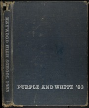 1983 Edition, Haywood High School - Purple and White Yearbook (Brownsville, TN)