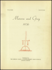 Page 5, 1936 Edition, Dobyns Bennett High School - Maroon and Grey Yearbook (Kingsport, TN) online yearbook collection