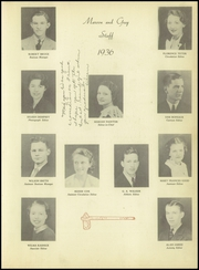 Page 7, 1936 Edition, Dobyns Bennett High School - Maroon and Grey Yearbook (Kingsport, TN) online yearbook collection