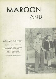 Page 6, 1941 Edition, Dobyns Bennett High School - Maroon and Grey Yearbook (Kingsport, TN) online yearbook collection