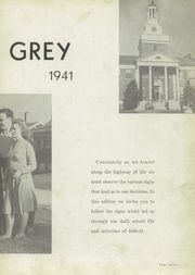 Page 7, 1941 Edition, Dobyns Bennett High School - Maroon and Grey Yearbook (Kingsport, TN) online yearbook collection