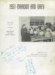 Page 7, 1951 Edition, Dobyns Bennett High School - Maroon and Grey Yearbook (Kingsport, TN) online yearbook collection