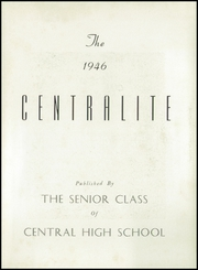 Page 7, 1946 Edition, Central High School - Centralite Yearbook (Knoxville, TN) online yearbook collection