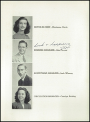 Page 9, 1946 Edition, Central High School - Centralite Yearbook (Knoxville, TN) online yearbook collection