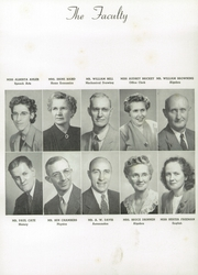 Page 14, 1949 Edition, Central High School - Centralite Yearbook (Knoxville, TN) online yearbook collection