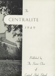 Page 7, 1949 Edition, Central High School - Centralite Yearbook (Knoxville, TN) online yearbook collection