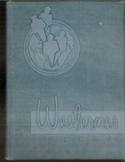 Page 1, 1955 Edition, West High School - Westerner Yearbook (Knoxville, TN) online yearbook collection