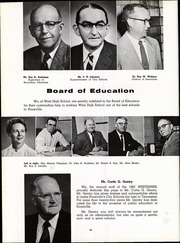 Page 16, 1962 Edition, West High School - Westerner Yearbook (Knoxville, TN) online yearbook collection