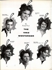 Page 6, 1962 Edition, West High School - Westerner Yearbook (Knoxville, TN) online yearbook collection