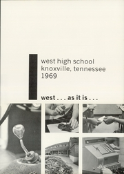Page 5, 1969 Edition, West High School - Westerner Yearbook (Knoxville, TN) online yearbook collection