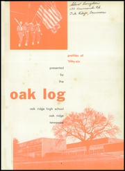 Page 5, 1956 Edition, Oak Ridge High School - Oak Log Yearbook (Oak Ridge, TN) online yearbook collection