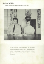 Page 12, 1954 Edition, Hendersonville High School - Golden Memories Yearbook (Hendersonville, TN) online yearbook collection