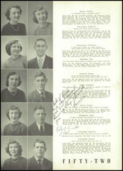 Page 15, 1952 Edition, Gallatin High School - Green Wave Yearbook (Gallatin, TN) online yearbook collection