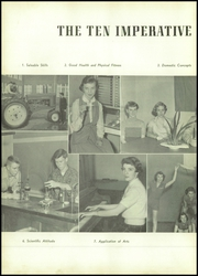 Page 8, 1952 Edition, Gallatin High School - Green Wave Yearbook (Gallatin, TN) online yearbook collection
