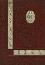 1941 Edition, Central High School - Signal Yearbook (Columbia, TN)