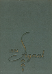 1954 Edition, Central High School - Signal Yearbook (Columbia, TN)
