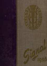 1956 Edition, Central High School - Signal Yearbook (Columbia, TN)