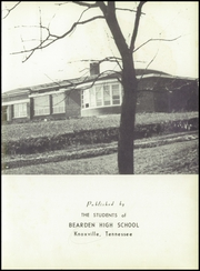 Page 7, 1953 Edition, Bearden High School - Echo Yearbook (Knoxville, TN) online yearbook collection