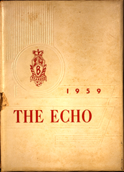 1959 Edition, Bearden High School - Echo Yearbook (Knoxville, TN)