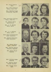 Page 11, 1950 Edition, Franklin County High School - Rebel Yearbook (Winchester, TN) online yearbook collection