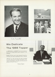 Page 8, 1966 Edition, Hillwood High School - Topper Yearbook (Nashville, TN) online yearbook collection