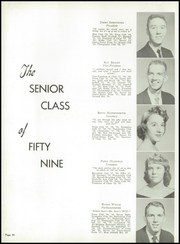 Page 14, 1959 Edition, Tullahoma High School - Wildcat Yearbook (Tullahoma, TN) online yearbook collection