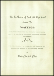 Page 9, 1950 Edition, North Side High School - Warrior Yearbook (Jackson, TN) online yearbook collection
