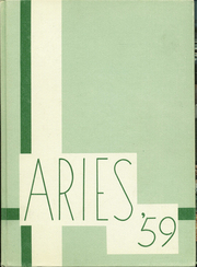 1959 Edition, Frayser High School - Aries Yearbook (Memphis, TN)