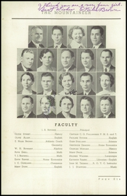Page 10, 1937 Edition, Elizabethton High School - Mountaineer Yearbook (Elizabethton, TN) online yearbook collection