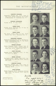Page 13, 1937 Edition, Elizabethton High School - Mountaineer Yearbook (Elizabethton, TN) online yearbook collection