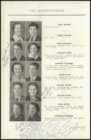 Page 14, 1937 Edition, Elizabethton High School - Mountaineer Yearbook (Elizabethton, TN) online yearbook collection