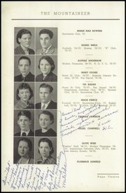 Page 16, 1937 Edition, Elizabethton High School - Mountaineer Yearbook (Elizabethton, TN) online yearbook collection