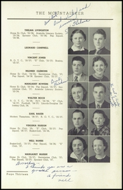 Page 17, 1937 Edition, Elizabethton High School - Mountaineer Yearbook (Elizabethton, TN) online yearbook collection