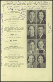 Page 15, 1938 Edition, Elizabethton High School - Mountaineer Yearbook (Elizabethton, TN) online yearbook collection