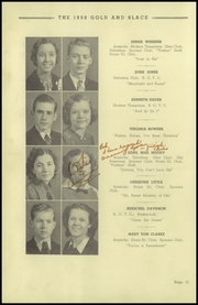 Page 16, 1938 Edition, Elizabethton High School - Mountaineer Yearbook (Elizabethton, TN) online yearbook collection