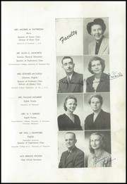 Page 17, 1948 Edition, Powell High School - Panther Yearbook (Powell, TN) online yearbook collection