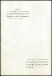 Page 4, 1948 Edition, Powell High School - Panther Yearbook (Powell, TN) online yearbook collection