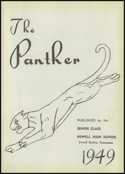 Page 5, 1949 Edition, Powell High School - Panther Yearbook (Powell, TN) online yearbook collection
