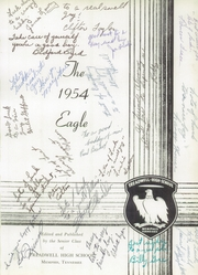 Page 3, 1954 Edition, Treadwell High School - Eagle Yearbook (Memphis, TN) online yearbook collection