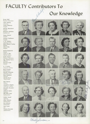 Page 8, 1954 Edition, Treadwell High School - Eagle Yearbook (Memphis, TN) online yearbook collection