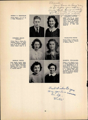 Page 16, 1944 Edition, Maryville High School - Appalachian Yearbook (Maryville, TN) online yearbook collection
